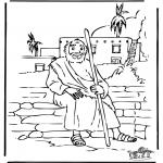 Kolorowanki Biblijne - Syn Marnotrawny 5