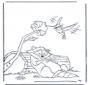 Szop i kolibr