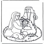 Boze Narodzenie - Szopka Świąteczna 1
