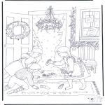 Boze Narodzenie - Szopka świąteczna
