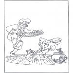Bohaterowie Z Bajek - Tańczący Pinokio