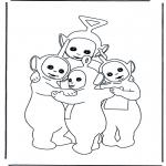Przedszkolaki - Teletubisie się przytulają