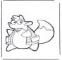 Tico wiewiórka