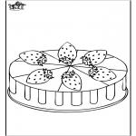 Różne - Truskawka tort