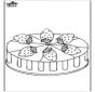 Truskawka tort