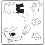 Maisterkowanie - Ubieranie Elmo 2