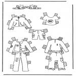 Maisterkowanie - Ubrania lalki 1