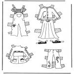 Maisterkowanie - Ubrania lalki 3