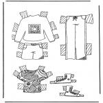 Maisterkowanie - Ubrania lalki 5