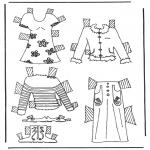 Maisterkowanie - Ubrania lalki 6