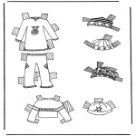 Maisterkowanie - Ubrania lalki 7