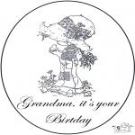 Maisterkowanie - Urodziny Babci