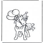 Zwierzęta - Urodziny konia