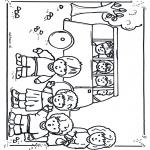 Przedszkolaki - W autobusie do szkoły