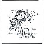 Tematy - Walentynka koń