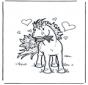 Walentynka koń