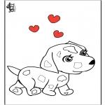 Tematy - Walentynka - Pies