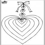 Tematy - Walentynka serce