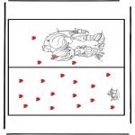 Tematy - Walentynki Kartka 1