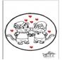 Walentynki Kartka do Kłucia 5