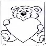 Tematy - Walentynkowy misiu