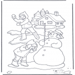 Zima - Walka na Kule Śnieżne