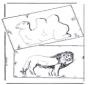Wielbłąd i lew