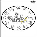 Tematy - Wielkanoc - Mandala 4