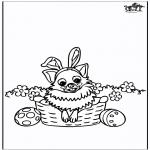 Tematy - Wielkanoc - pies