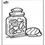 Maisterkowanie - Window color Cukierek