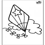Maisterkowanie - Window color - Latawiec