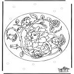 Różne - Wiosenna Mandala