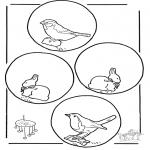 Maisterkowanie - Wiszące zwierzęta