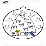 Boze Narodzenie - Wykłówanka - Choinka 1