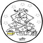 Boze Narodzenie - Wykłówanka - Choinka 3