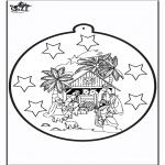 Boze Narodzenie - Wykłówanka Józef  i Maria