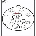 Boze Narodzenie - Wykłówanka - Piernik 1