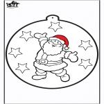 Boze Narodzenie - Wykłówanka - Święty Mikołaj