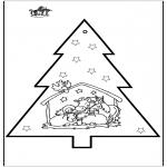 Boze Narodzenie - Wykłówanka - Szopka bożonarodzeniowa 2