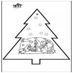 Boze Narodzenie - Wykłówanka - Szopka bożonarodzeniowa 3
