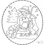 Boze Narodzenie - Wykłówanka Żłobek