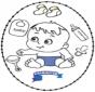 Wyszywanka Baby 2