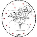 Tematy - Wyszywanka Walentynki