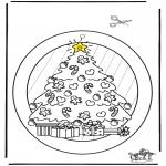 Boze Narodzenie - Wywieszka na Okno - Boże Narodzenie 2