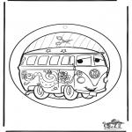 Maisterkowanie - Wywieszka na Okno Cars