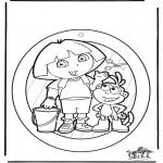 Maisterkowanie - Wywieszka na Okno Dora 1