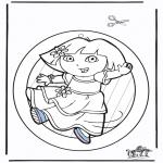 Maisterkowanie - Wywieszka na Okno Dora 2