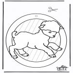 Maisterkowanie - Wywieszka na Okno - Owca