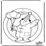 Maisterkowanie - Wywieszka na Okno Paddington