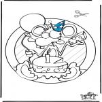 Maisterkowanie - Wywieszka na Okno - Urodziny
